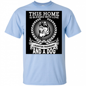 Dog At Home Printed Design T-Shirt Buy top quality shirts In UK