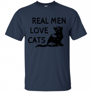Buy top quality shirts In UK This Trendy Real Men Love Cat T-Shirt