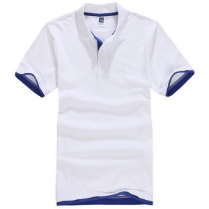 Casual white polo Buy top quality shirts In UK
