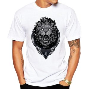 CoolShirts Lion King Design T-Shirt Short Sleeve