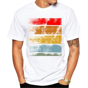 CoolShirts Retro Fashion Printed T-Shirt for Men