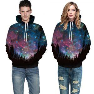 Black Sky Design Unisex Hoodie / Sweatshirt top quality shirts