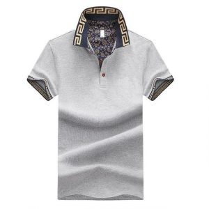 Grey trendy Polo Buy top quality shirts In UK