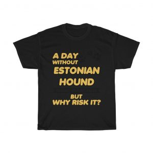 A day without ESTONIAN HOUND