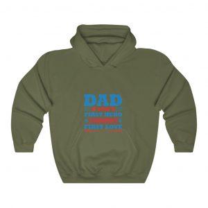 Dad - Unisex Heavy Blend™ Hooded Sweatshirt