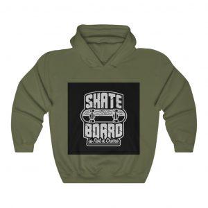 Skate Hoodies - Skate Board is Not a Crime