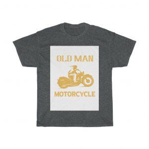 Old man motor cycle