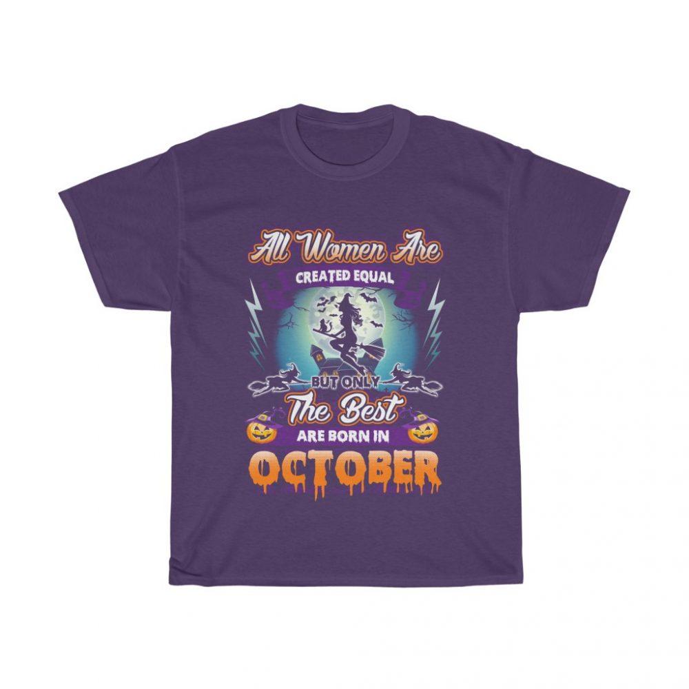 October tee
