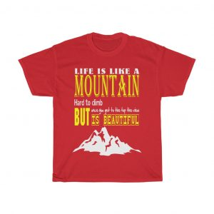 life is like mountain