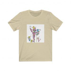 Cartoon illustration funny t-shirt