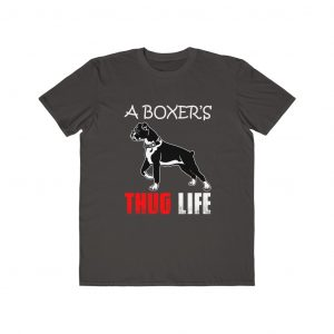 A BOXER'S THUG LIFE T-SHIRT COLLECTION