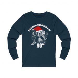 Dashing through the no T-shirt