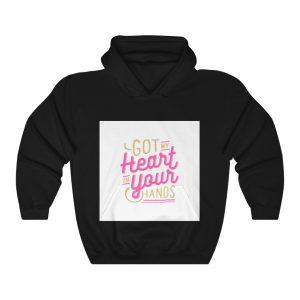 hand hoodie