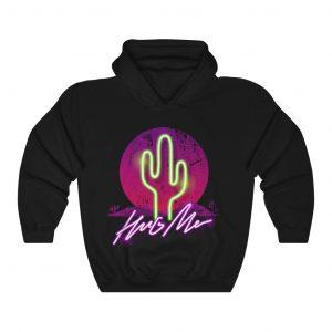 Hug me cool illustration hoodie