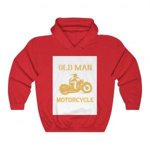 OLD MAN MOTORCYCLE cool hoodie